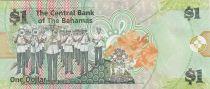 Bahamas 1 Dollar Lynden O Pindling - Fanfare - 2015