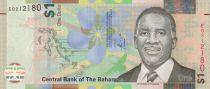 Bahamas 1 Dollar Lynden O Pindling - Fanfare - 2017 - Hybride - Neuf