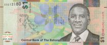 Bahamas 1 Dollar Lynden O\'Pindling - Police Band - 2017 - Hybrid note - UNC