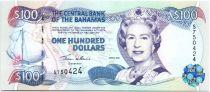 Bahamas 100 Dollars Elizabeth II - Voilier - 2000