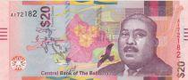 Bahamas 20 Dollars Milo B. Butler - Port, navires - 2018