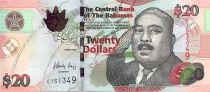 Bahamas 20 Dollars Milo B. Butler - Port, navires - 2006