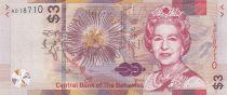 Bahamas 3 Dollars Elisabeth II - Voiliers - 2019 - Neuf