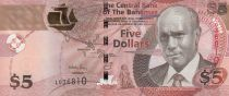 Bahamas 5 Dollars C. Wallace-Whitefield - Dancers - 2013