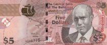 Bahamas 5 Dollars C. Wallace-Whitefield - Danseurs - 2013