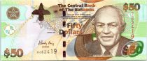 Bahamas 50 Dollars Sir Roland T Symonette - Central Bank - 2006