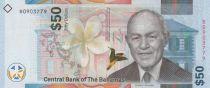 Bahamas 50 Dollars Sir Roland T Symonette - Hybride - 2019 - Neuf
