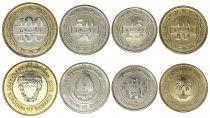 Bahrain Set 4 coins