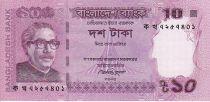 Bangladesh 10 Taka M. Rahman - Mausolé