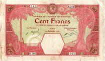 Banque de l´Afrique Occidentale 100 Francs Dakar - 1926 Série R.169 - 1926