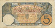 Banque de l´Afrique Occidentale 5 Francs Lion - Dakar - 1919