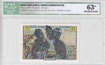 Banque de l´Afrique Occidentale 50 Francs Femmes africaines - SPECIMEN ICG UNC63