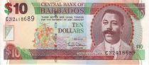 Barbade 10 Dollars C.D. O´Neal - Trafalgar Square