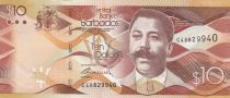 Barbade 10 Dollars Charles Duncan O\'Neal- Pont- 2017