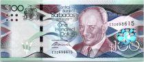Barbade 100 Dollars Sir G.H. Adams - Trafalgar Square - 2016