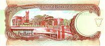 Barbade 50 Dollars, Errol Barrow - Trafalgar square - 1989