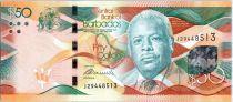 Barbade 50 Dollars Errol Barrow - Independance Square 2013