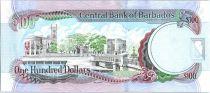 Barbados 100 Dollars Sir G.H. Adams - Trafalgar Square - 2009