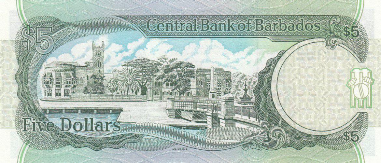 Barbados 5 Dollars Sir Frank Worrell - 1993 - P.43 - UNC