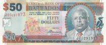 Barbados 50 Dollars E.W. Barrow - Trafalgar Square - 2007 (2009)