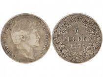 Bavaria 1/2 Gulden Ludwig I - Wreath