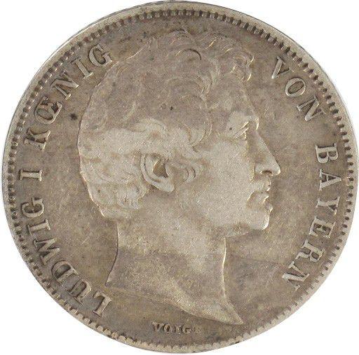 Bavière 1/2 Gulden Louis I - Couronne