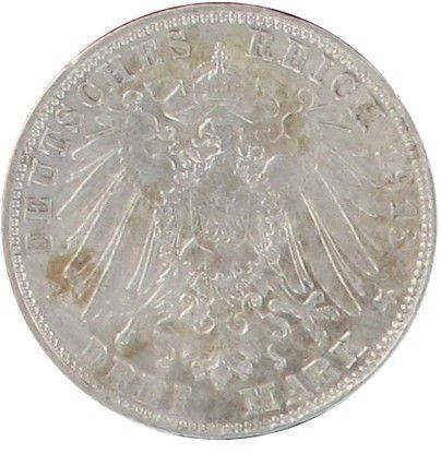 Bavière 3 Mark Otto Von Bayern - Armoiries