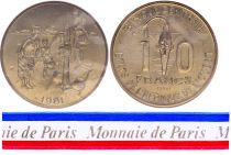 BCEAO 10 Francs - 1981 - Essai