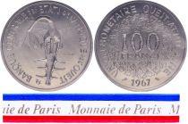 BCEAO 100 Francs - 1967 - Essai