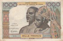 BCEAO 100 Francs masque 1959 - Série Z.5