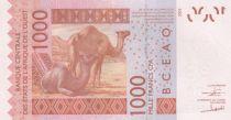 BCEAO 500 Francs Masque - Dromadaires - Togo 2018