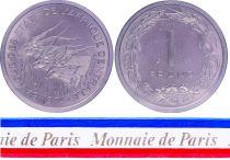 BEAC 1 Franc - 1974 - Essai
