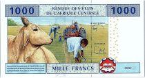 BEAC 1000 Francs 2002 (2017) - Explotation forestière - Cameroun - Neuf - P.207Uf