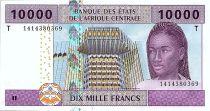 BEAC 10000 Francs - BEAC - 2002 (2019) - Neuf  - Congo