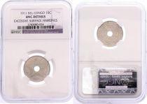 Belgian Congo 10 Cents Star