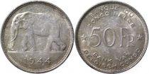 Belgian Congo 50 Francs Elephant