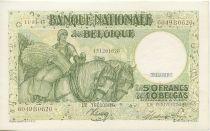 Bélgica 50 Francs Peasant woman