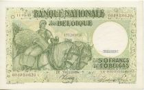 Belgio 50 Francs Peasant woman