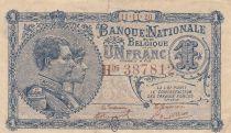 Belgique 1 Franc 11-11-1920 - Albert & Elizabeth