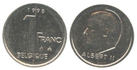 Belgique 1 Franc Albert II