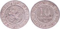 Belgique 10 Centimes, Léopold I - Lion - 1862