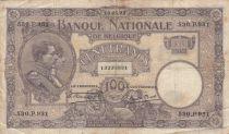 Belgique 100 Fra,cs 16-05-1923 - Albert & Elizabeth