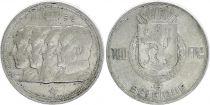 Belgique 100 Francs - 4 Rois - 1950 - Argent - TTB - Texte français
