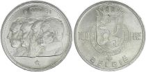 Belgique 100 Francs - 4 Rois - 1951 - Argent - TTB +  - Texte néerlandais
