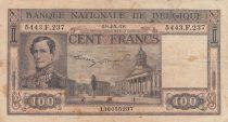 Belgique 100 Francs 08-05-1945 - Leopold Ier, palais de justice