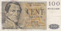 Belgique 100 Francs Leopold I - 13-02-1958 - TTB - P.129c
