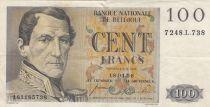 Belgique 100 Francs Leopold I - 18-04-1956 - TTB - P.129b