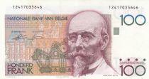 Belgique 100 Francs ND1992-94 - Hendrik Beyaert, sign au dos