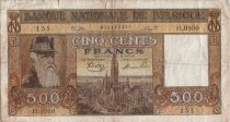 Belgique 500 Francs 1945 Leopold II, Ville d\'Anvers, Congo