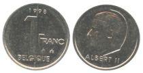 Belgium 1 Franc Albert II